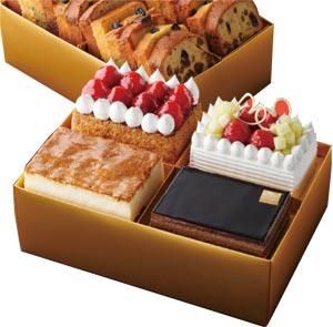 ホテルニューオータニの菓子のお重