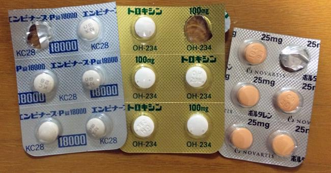 痛風で処方された薬