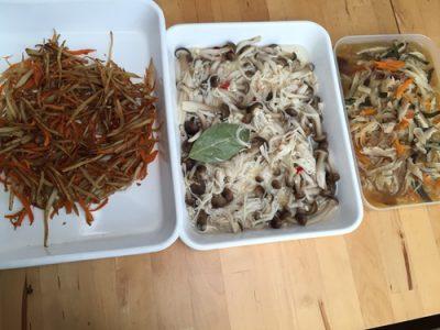 常備菜と保存食