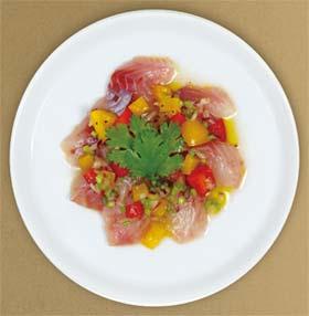 セヴィーチェ(白身魚のマリネサラダ)