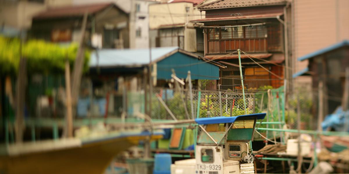 散歩へ行こう。「東京・佃」