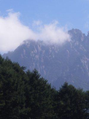 再びの瑞牆山