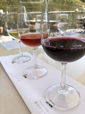 秋晴れワイン日和