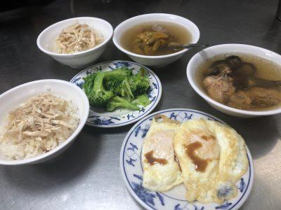 台湾での朝食