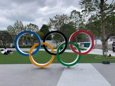 オリンピック散歩