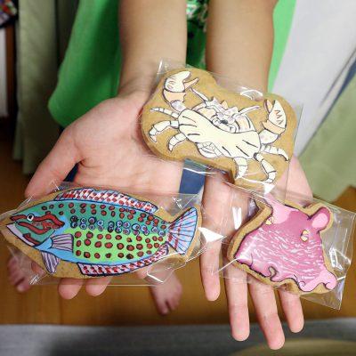 アートなアイシングクッキー