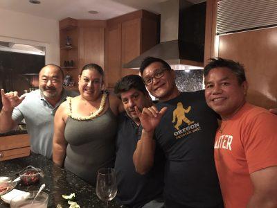 12月の頭、ハワイの友人が日本にやってきました。