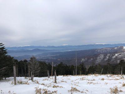 2年ぶりの雪山