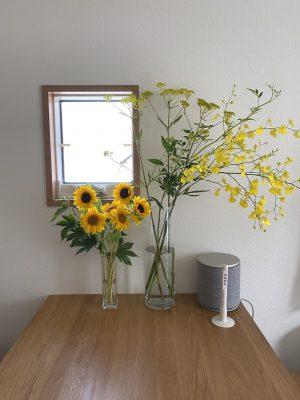 仕事+花=心の緩和