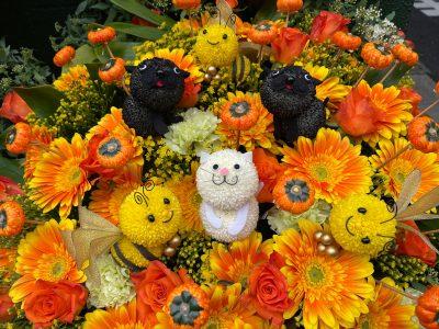 愛溢れるお花たち